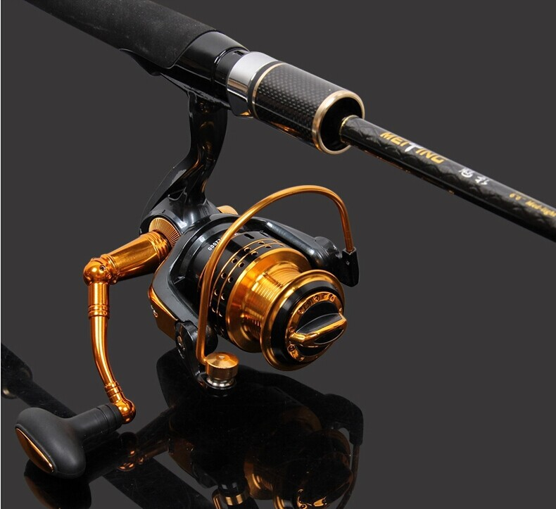 Trulinoya 2 1M M Saltwater Spinning Fishing Rod Set MY Spinning Fishing Reel Fishing Lure and