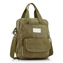 2016 New Retro Multifunctional Portable Canvas Handbag Man and Women Single Shoulder Bags Simple Messenger Bags for Women