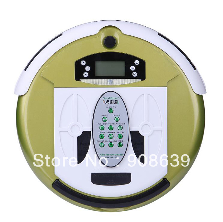 Free Shipping 4 In 1 Newest Multifunctional Wet&Dry Moping Intelligent Vacuum Cleaner Robot+0.7L Rubblish Box+Dirt detection(China (Mainland))