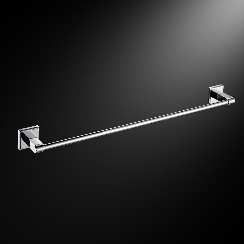 Free Shipping Stainless Steel Towel Bar Bathroom Single Towel Bar Towel Rack Bath Fittings Accessaries(Hong Kong)