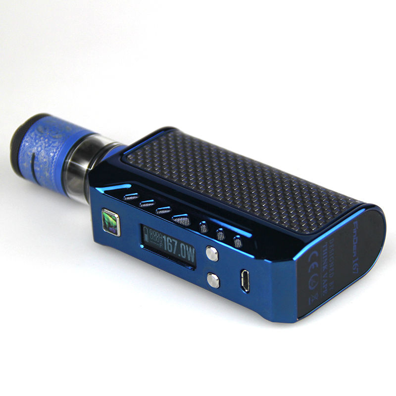 100% Original Think vape Finder 167 box mod By Evolv DNA 250 Chip Royal blue electronic cigarette