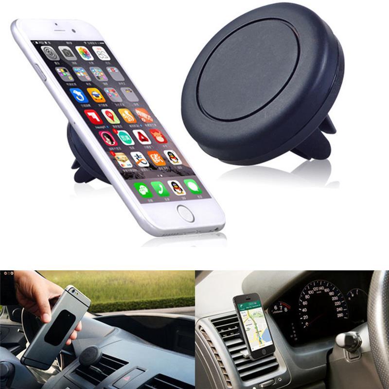 Auto Car Holder Mini Air Vent Outlet Mount Magnet Magnetic Phone Mobile Holder