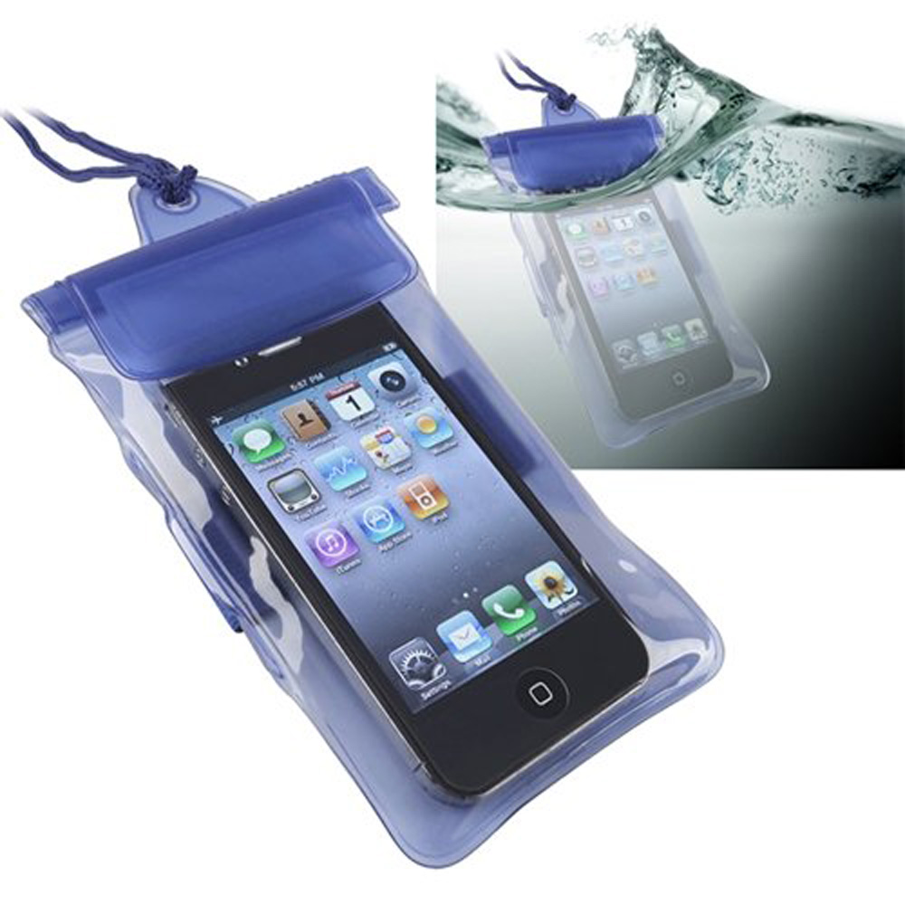 New Hotsale Best Price In Aliexpress promotion Universal Waterproof Bag Case for Cell Phone / PDA, Blue(China (Mainland))