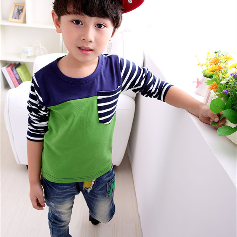 Brand Spring Autumn Children T-Shirts Cotton Baby Boy Tops Tee Casual Roupas Infantis Menino T Shirt Clothing Next Kids Clothes(China (Mainland))