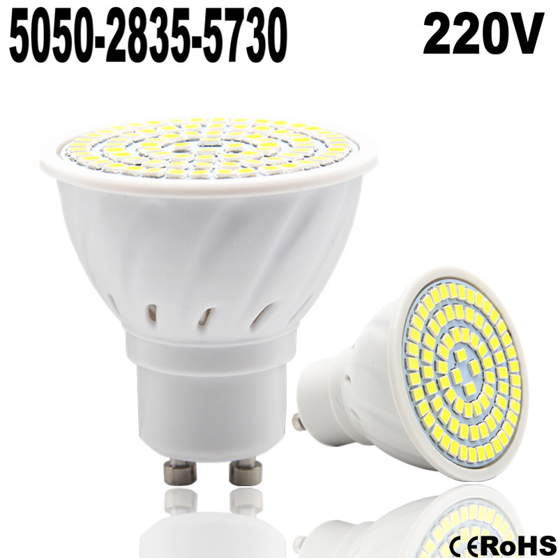 Lampada LED Lamp E27 220V 5050 SMD 2835 Ampoule LED Spotlight GU10 Bombillas LED Bulb E27 MR16 220V Spot light Candle Luz GU5.3(China (Mainland))
