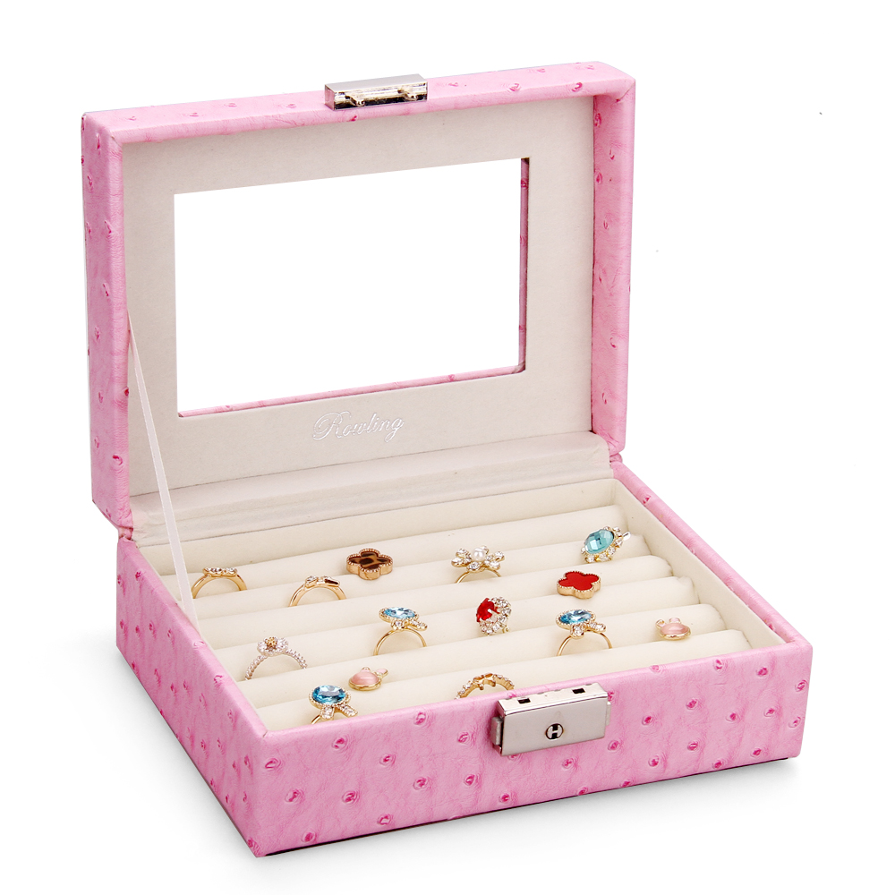 rowling jewelry box rings box earring tie pins