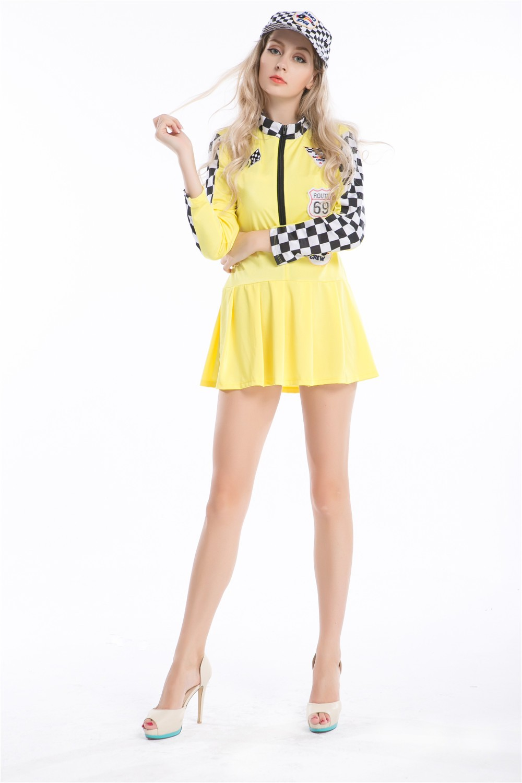 8378 yellow racer costume (1)