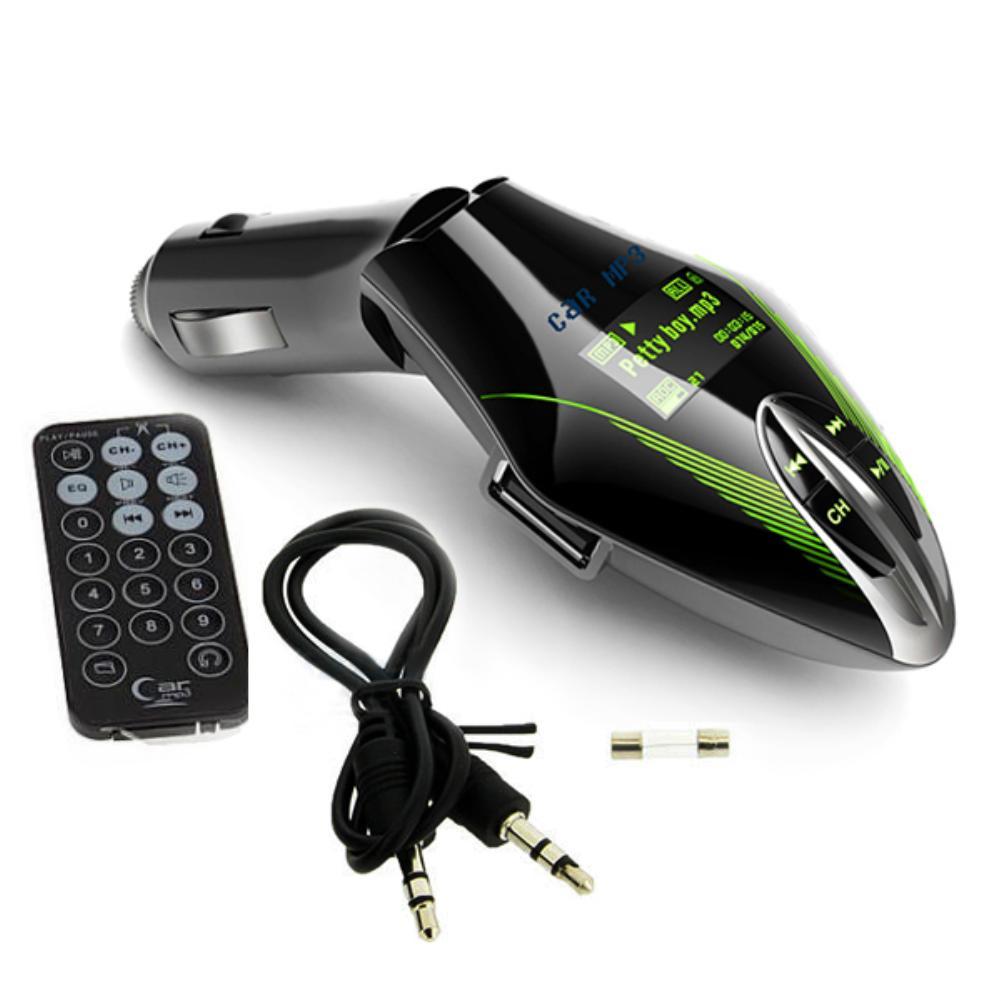 Green Light Digital Bluetooth Car MP3 Player / FM Radio Stereo Audio Music USB / SD with In Dash Slot Input EP9889(China (Mainland))