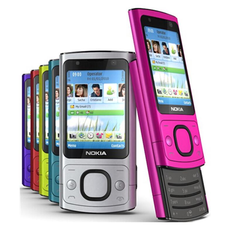 100% Original 6700s NOKIA Mobile Phone Camera 5.0MP Bluetooth Java Unlocked 6700 slide Phone(China (Mainland))