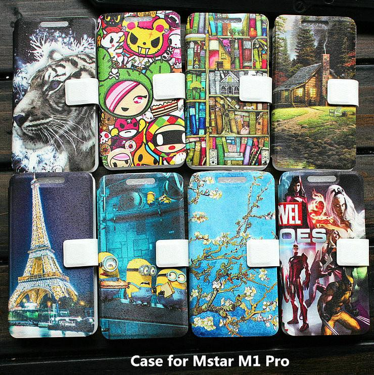 Universal leather phone cover Case for Mstar M1 Pro case cover