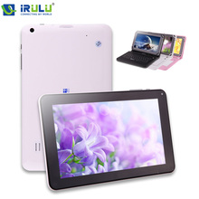 IRULU Tablet X1a New 9″ 8GB Google Android 4.4 Kitkat Quad Core PC Bluetooth 3G External Dual Cameras with TF Card 2014 High End