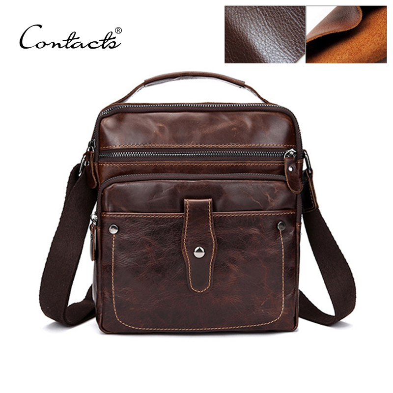 Fashion Designer High Quality Genuine Leather Crossbody Bags Design Men Bags Cowhide Leather Small Bag Messenger Bag For Man(China (Mainland))