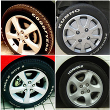 12pcs lot White Car Motorcycle Tyre Tire Tread Rubber Paint Marker Pen Whatproof Permanent Free Shipping