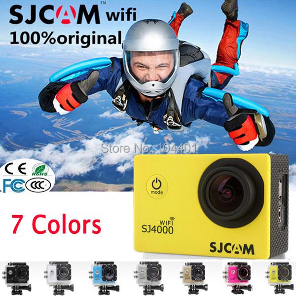 Здесь можно купить  Original SJCAM SJ4000 WIFI Sport Action Camera 1080P Full HD GoPro Camera Style Extreme Sport DV VCR Camera 30M Waterproof  Бытовая электроника