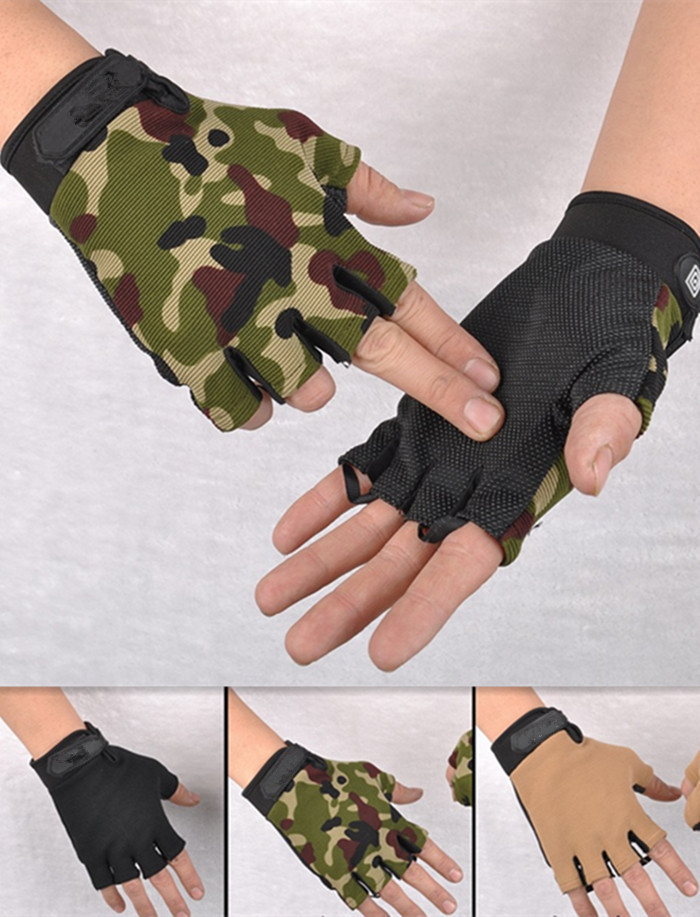Military army paintball outdoor sport motorcycle gym cycling workout wearproof tactical fitness training gloves JXY0150(China (Mainland))