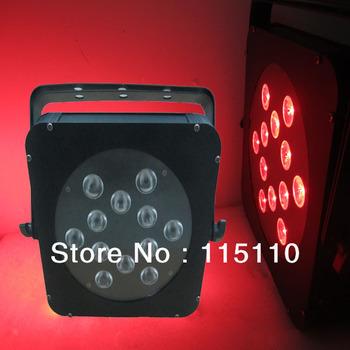 12*10w led flat par can