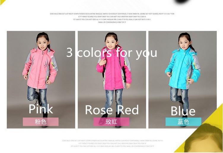 Скидки на 2015 новых 3 цветов твердые хлопок одежда для подростков девочки подростки девочка одежды пальто на зиму одежда для девочек