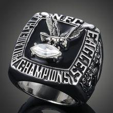 1980 National Football League Philadelphia Eagles replica super bowl championship rings men wholesale Fast shipping STR0-018(China (Mainland))