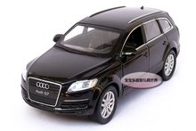 AUDI Q7 1:32 Alloy Diecast Car Model Toy Collection Sound Light Black B107a - Dreamhouse store