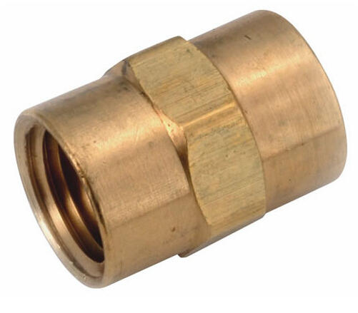 "Female brass pipe coupling Adapt or control any air or water line in 3/4"" FNPT connect by factory's sell(China (Mainland))"