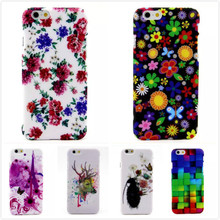 New Arrival! 6G Fashion Painted Luxury PC Hard Plastic Case Cover For Apple iphone 6 4.7″ Mobile Phone Case Shell,CCT-P068