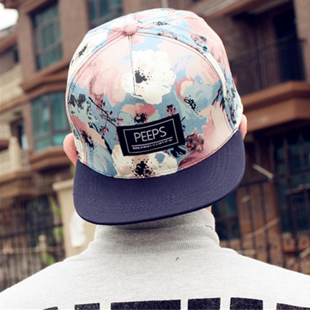 2015 fashion new floral adjustable snapback caps baseball hats for men and women sports hip hop baseball caps