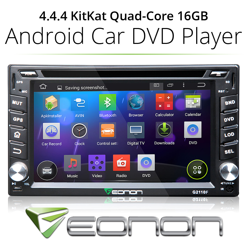 New Android 4.4.4 Double DIN Car DVD Player GPS Wifi 1080p BT Touch Radio MP3(China (Mainland))