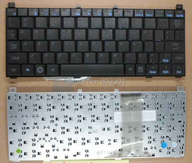 QWERTY Hot sale laptop computer keyboard for KOHJINSHA SX SX3 V072426AS1 US Layout(China (Mainland))