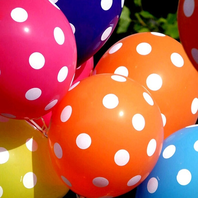 8pcs 12inch Polka Dot Pearl Air Balloons Latex Balloons Birthday Party Supplies Wedding Decoration New Year Christmas Gift.6z(China (Mainland))