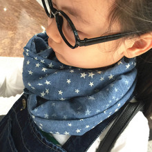 2016 New Children Winter autumn Comfortable soft Scarf very cute star Baby scarf Boys and girls scarf (China (Mainland))