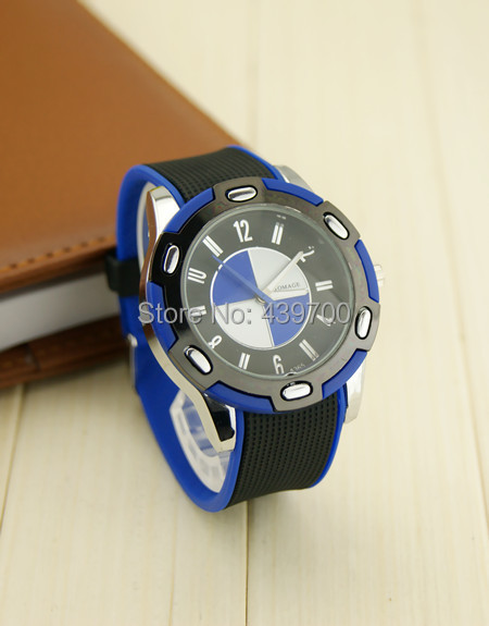new 2014New ! BMW supports cheap quartz watch Korean ladies fashion WOMAGE silicone band mixed batch(China (Mainland))