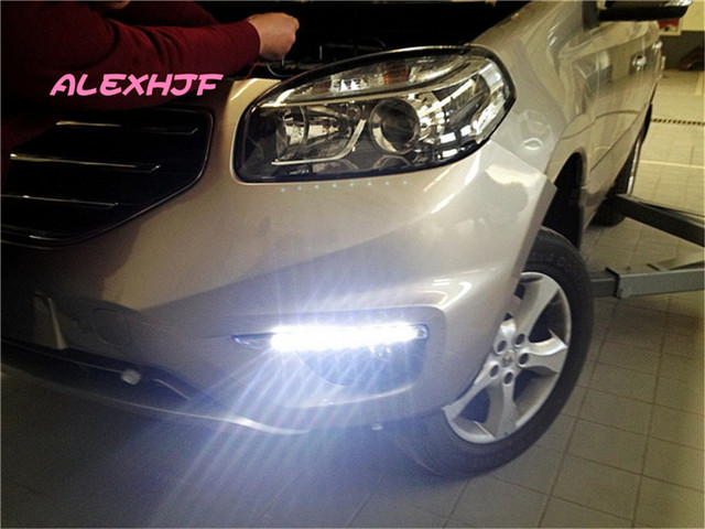 Yeats LED Daytime Running Lights DRL, LED Front Bumper Fog Lamp case for Renault Koleos 2012~ON 1:1 replacement, free shipping