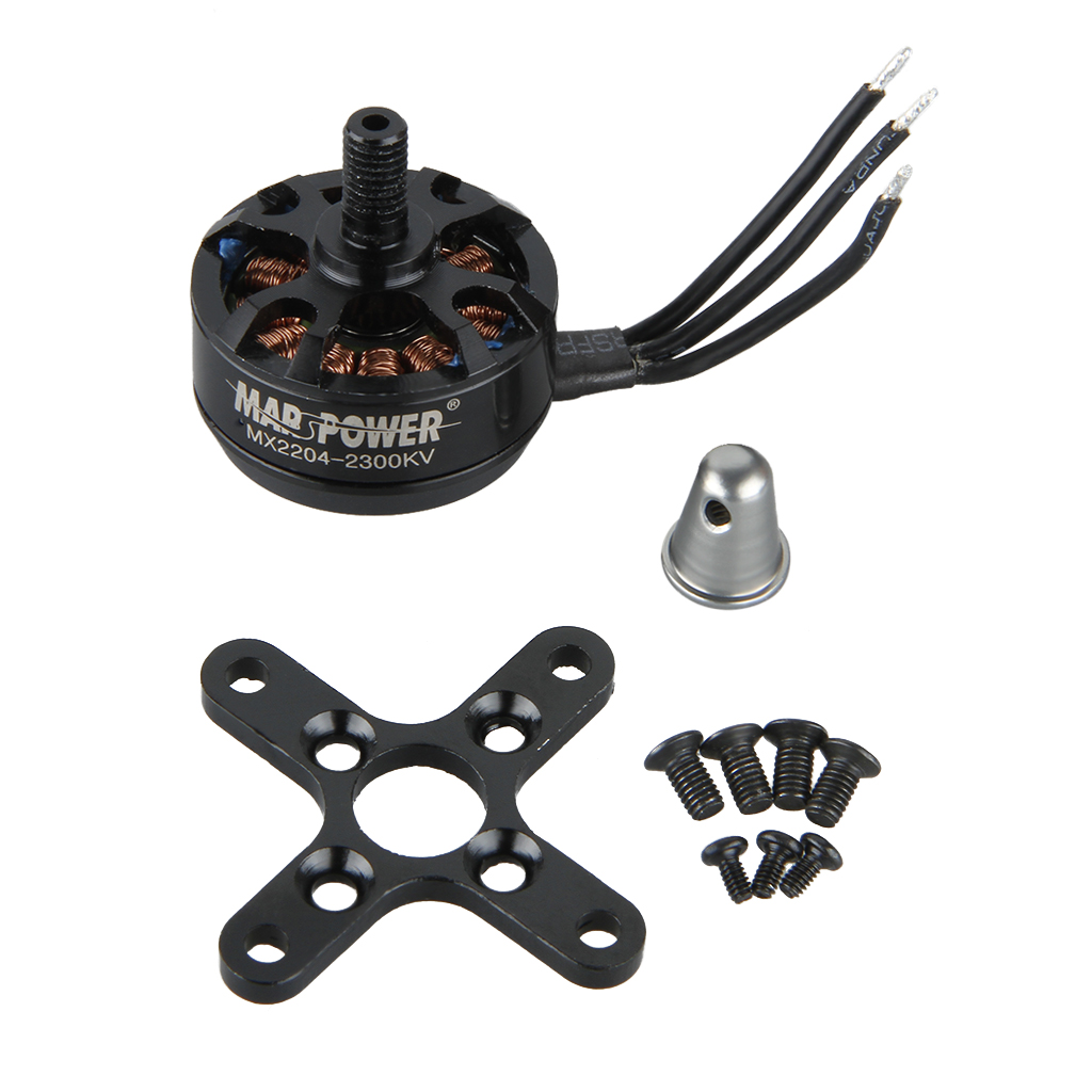 F16030/F15621 MARSPOWER MX2204 2300 KV Multi-Axis Brushless Motor Outrunner for RC 250 H250 Mini Quadcopter Multicopter DIY FPV<br><br>Aliexpress