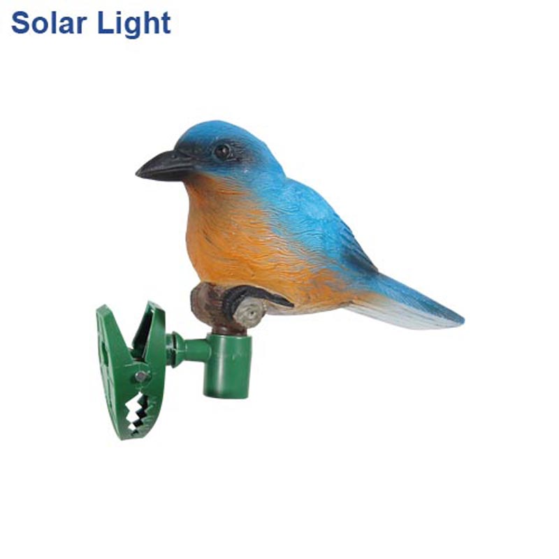 Hot Sell LED Bulb Solar Power Bird With Clip Lawn Lamp 4 colours Outdoor For Garden Tree Dective IP44 Waterproof High Quality<br><br>Aliexpress