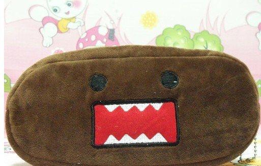 30PCS Japan DOMO KUN Plush Pen Pencil BAG Pouch Case Packs Pendant Cosmetics & Beauty Pouch Bag Case Coin Purse Case(China (Mainland))