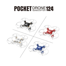 New Hot Sale FQ777 -124 Pocket Drone 4CH 6Axis Gyro Quadcopter With Switchable Controller RTF Remote Control Helicopter Toys(China (Mainland))