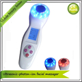 3MHZ Ultrasound Galvanic Ionic Led Photon Rejuvenation Bio Wave Microcurrent Face Lift Skin Tightening Face Beauty Massager