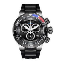 Récif tigre/RT Top marque de luxe bleu Sport montre pour hommes or Rose étanche montres bracelet en caoutchouc Relogio Masculino RGA3168(China)