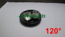 Envío gratis 100 unids diámetro 20 mm a prueba de agua de la lente óptica PMMA transmitancia lente titular 120 Degree ángulo de haz