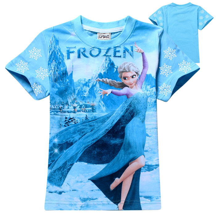 Girls Toddler Disney Frozen T-Shirt, Elsa & Anna, - Size 4T, Free Shipping See more like this. NWT Girls Disney Frozen T Shirt White Size 6. Brand New. Gap Kids Junk Food Frozen Shirt .
