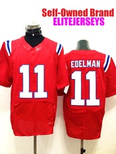 ELITEJERSEYS Custom 2017 American Football Jerseys Julian Throwback Sport Edelman Soccer Stitched Elite Men Women Youth Jersey(China (Mainland))