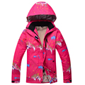 2016 Winter Jacket Women Down Thermal Breathable Ski Snowboard Jacket Female Girls Waterproof Outdoor Sport Snow