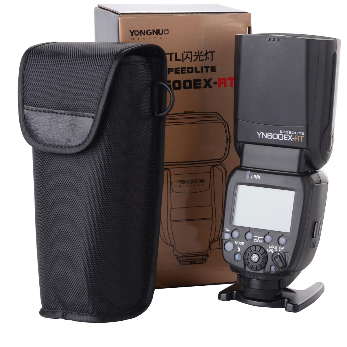 100% оригинал реальная вспышка yongnuo YN600EX-РТ ТТЛ Радио ведомой вспышки Speedlite для Canon в III 5Д 6Д 7Д для Nikon LF630