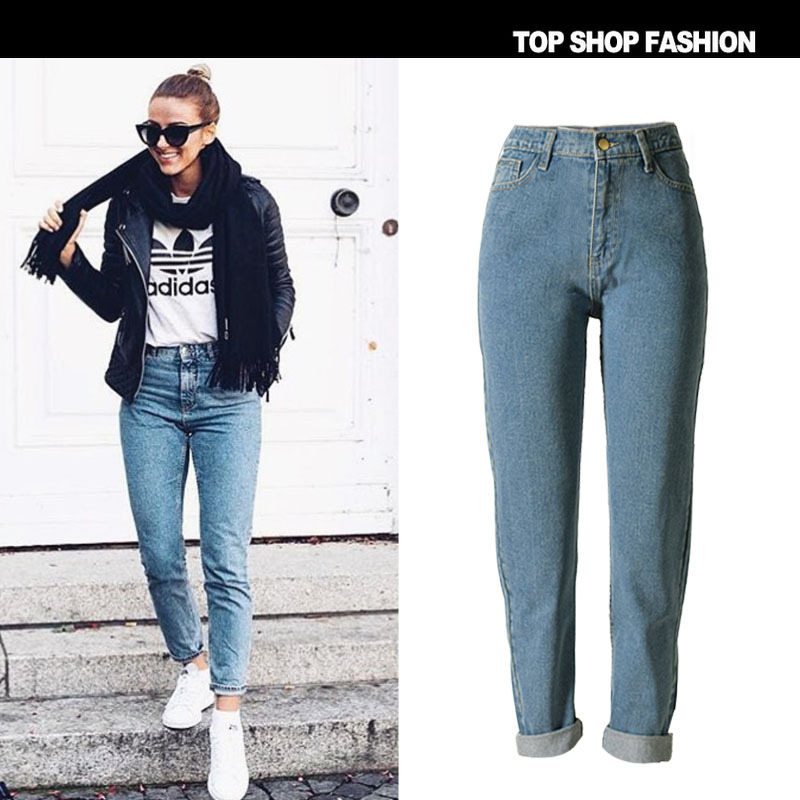 Jeans Woman Ms Plus Size Jeans Autumn And Winter Fashion Popular New Models In Europe America
