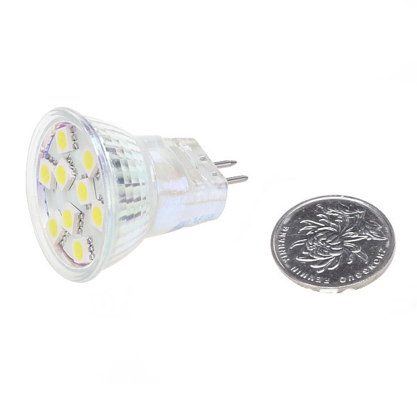 Free Shipment MR11 9LED G4 Base Spot Light 12V SMD5050 Home Housing Carts Camper White Warm White(Hong Kong)