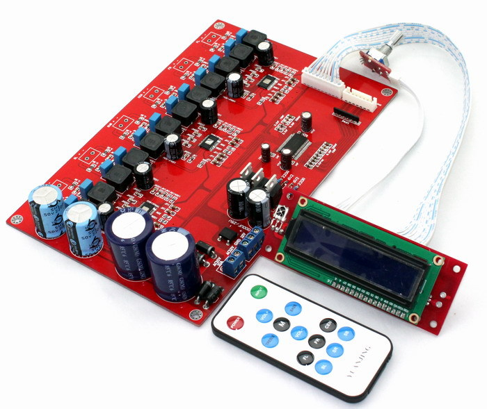 TPA3116D2 6-channel remote amplifier board Free Shipping<br><br>Aliexpress