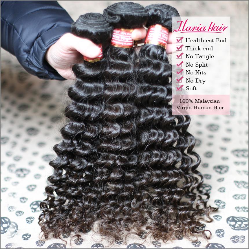 Wholesale 6A Rosa Hair Product Curly Malaysian Virgin Hair Deep Wave Human Virgin Hair 5Pc Unprocessed Weave Extension Free Ship(China (Mainland))