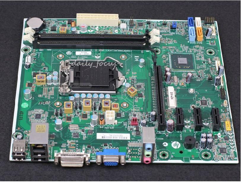 original motherboard for HP H61 boards 657002-001 DDR3 LGA 1155 Desktop Motherboard Free shipping(China (Mainland))
