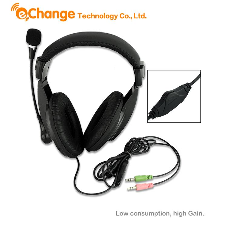 PC Computer Headset Headphone With Microphone Stereo Handsfree For Video Skype EN1386 Headphone earphones with microphone<br><br>Aliexpress