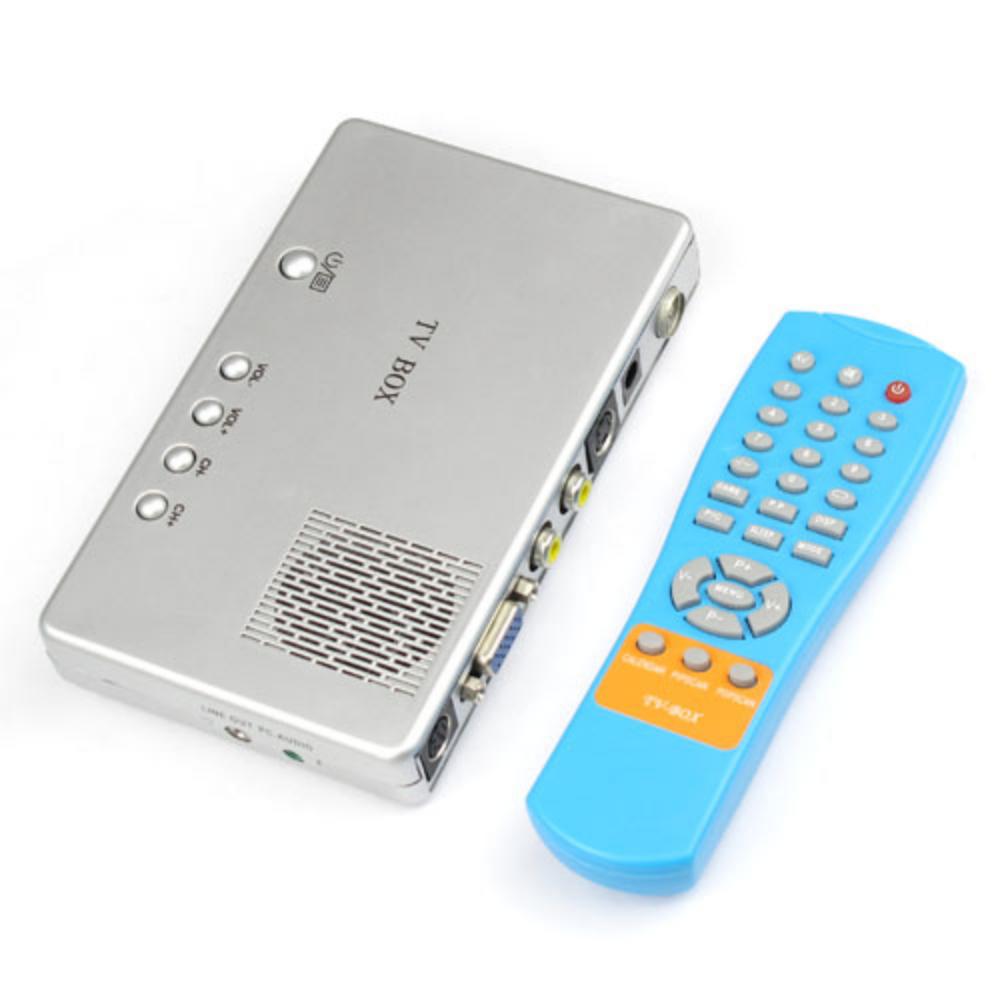 High Quality Universal External CRT TV Video Signal Receiver To Digital PC Computer Laptop External VGA LCD Monitor Box(China (Mainland))